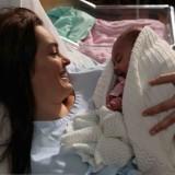 Espírito Indomável-Catarina tem a bébé